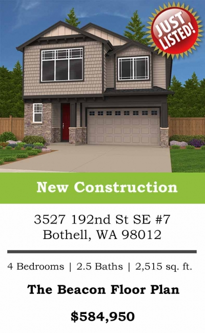 <h5>Home Builders - Just Listed New Home</h5>