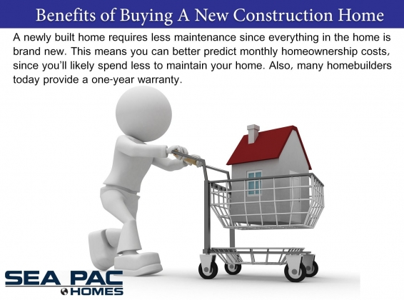 <h5>Home Builders - Benefits of New Construction</h5>