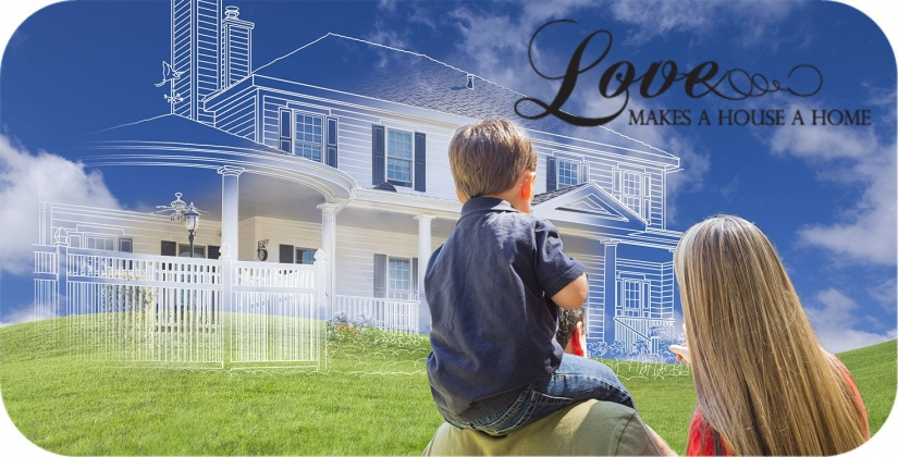 <h5>Home Builders - Love Makes A Home</h5>
