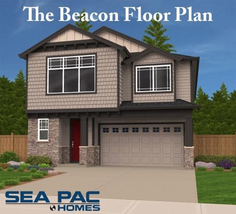 <h5>Home Builders - The Beacon Floor Plan</h5>