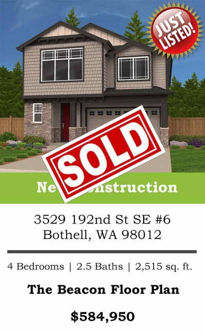 <h5>Home Builders - Just Sold</h5>