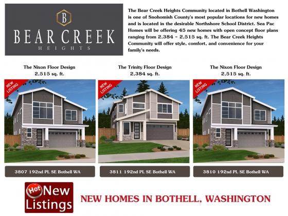 <h5>Home Builders - Bear Creek Bothell</h5>