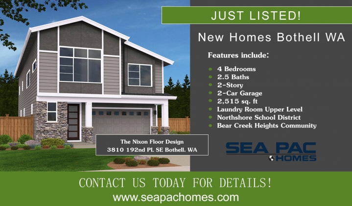 <h5>Home Builders - New Homes Bothell</h5>