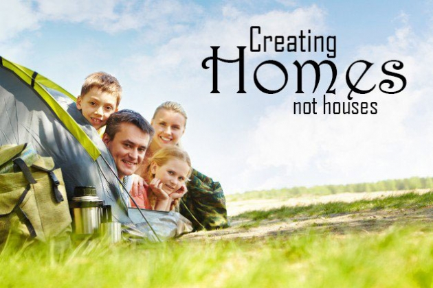 <h5>Home Builders - Creating Homes</h5>