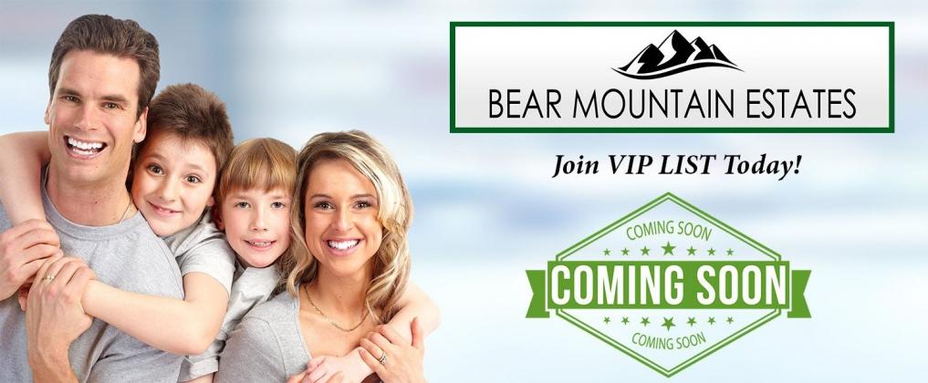 <h5>Home Builders - Bear Mountain Soon</h5>