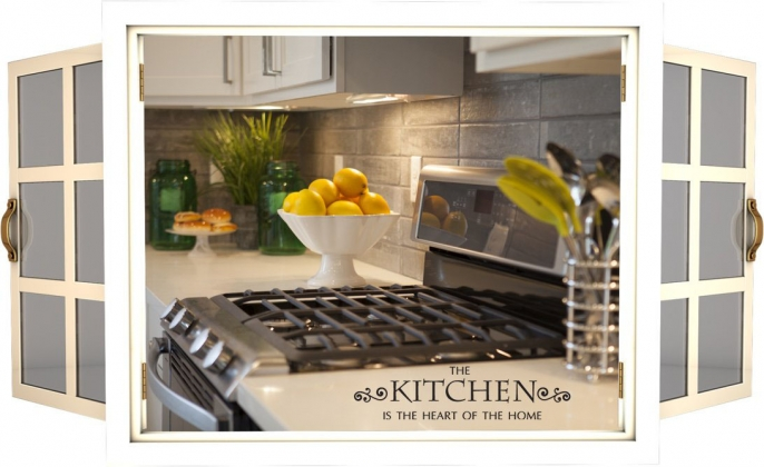 <h5>Home Builders - The Kitchen</h5>