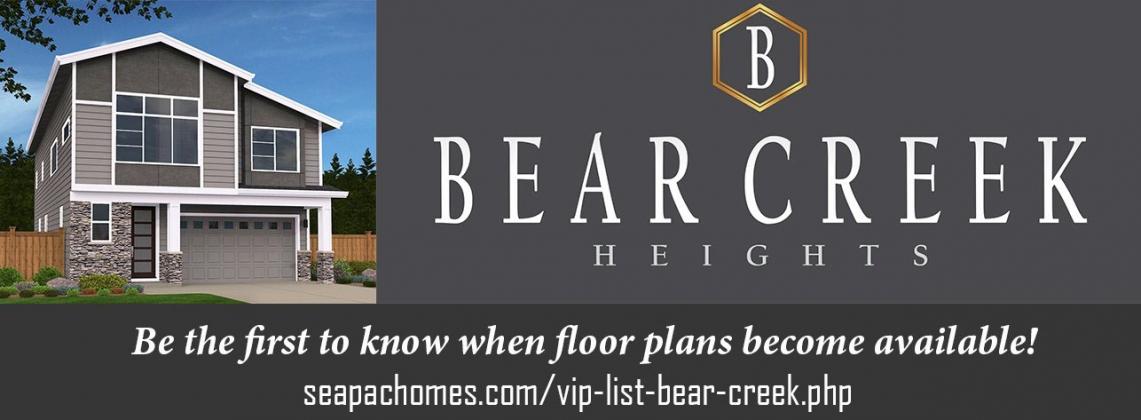 <h5>Home Builders - Bear Creek Heights</h5>