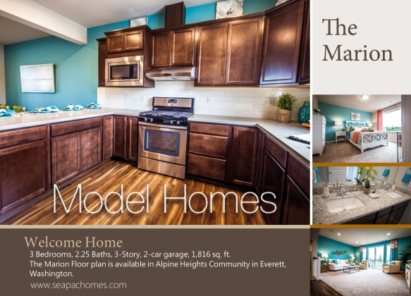 <h5>Home Builders - Model Home - Marion</h5>