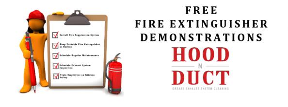 <h5>Hood - Fire Extinguisher</h5>