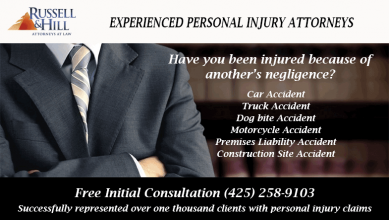 <h5>Law Firm - Injured in Accident</h5>