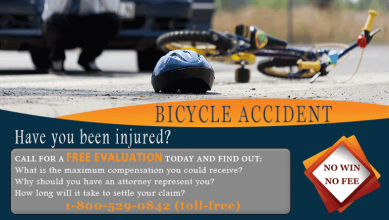 <h5>Law Firm - Bicycle Accident</h5>