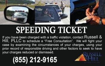 <h5>Law Firm - Speeding Ticket</h5>