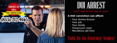 <h5>Law Firm - DUI Arrest</h5>